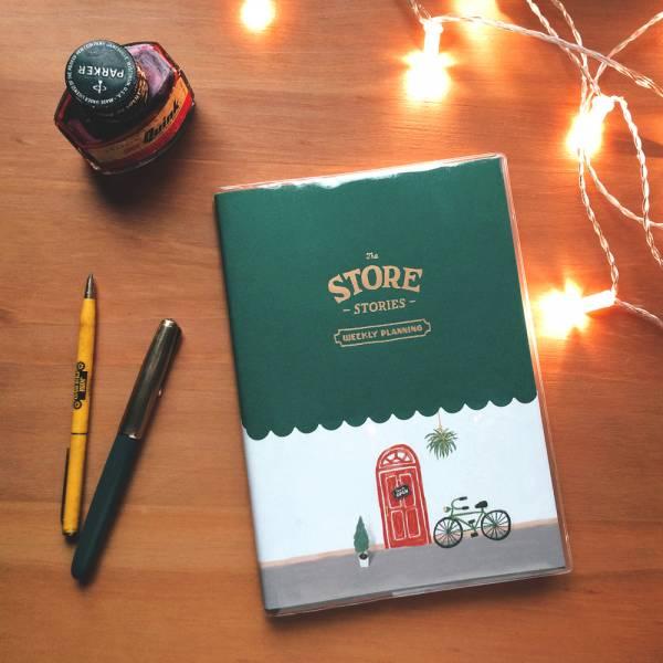 Store Stories 週計劃手帳 [單車] Dimanche,迪夢奇,週計畫,月計畫,貼紙