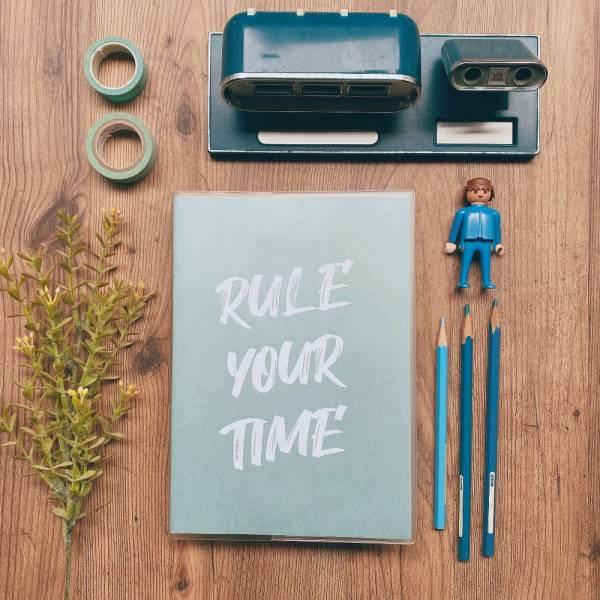 Rule Your Time 頁碼筆記本 v.2 [綠松石] Dimanche,迪夢奇,Bullet Journal,子彈,頁碼