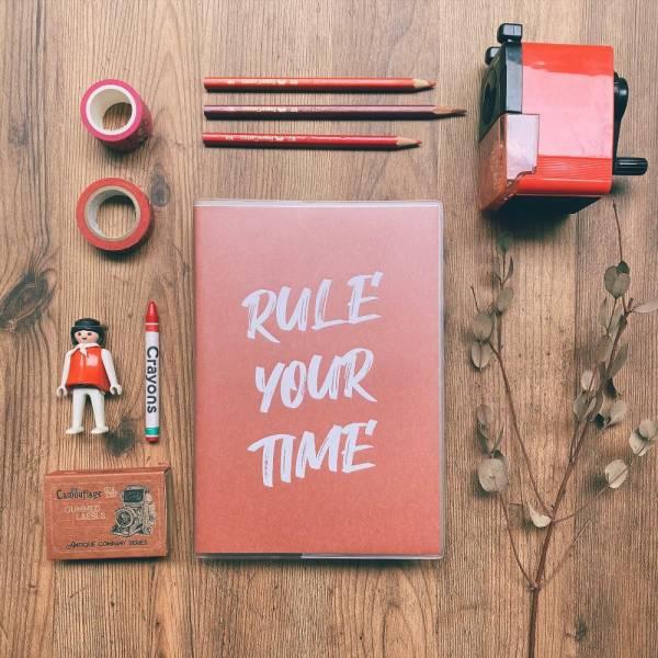 Rule Your Time 頁碼筆記本 v.2 [林檎] Dimanche,迪夢奇,Bullet Journal,子彈,頁碼
