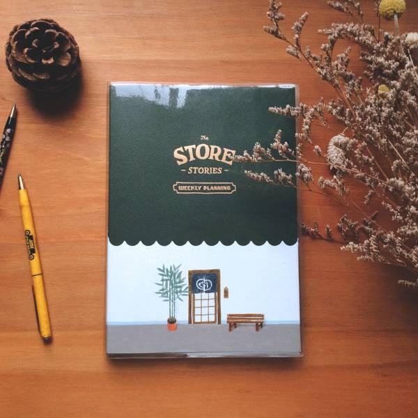 Store Stories 週計劃手帳 [長凳] Dimanche,迪夢奇,週計畫,月計畫,貼紙