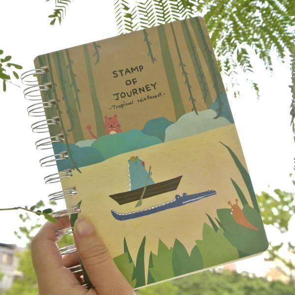 Stamp of Journey 探險集章本 v.2 [熱帶雨林] Dimanche,迪夢奇,集章,水彩,鋼筆,素描