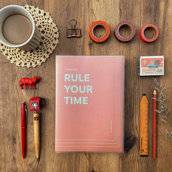 Rule Your Time 頁碼筆記本 v.3 [屋瓦] Dimanche,迪夢奇,Bullet Journal,子彈,頁碼