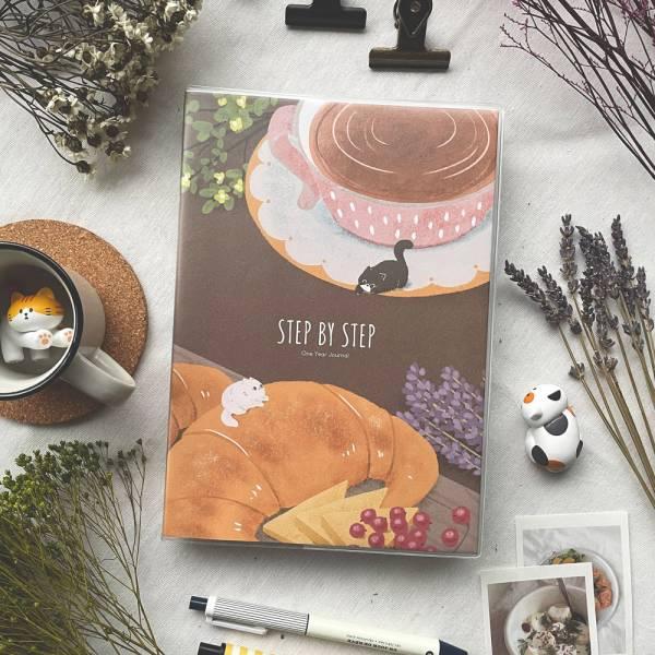 Step by Step 一年計劃v.4 [下午茶] 無時效,手帳設計,迪夢奇,手帳,dimanche,八分割