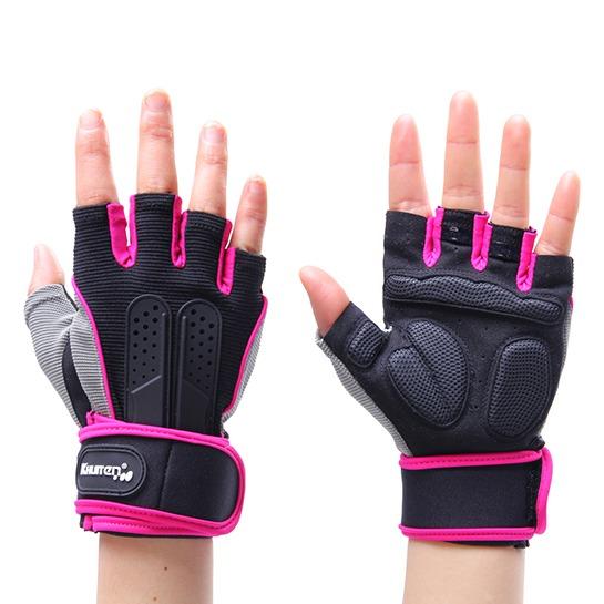 【KHUITEN】 輕盈透氣款手套-粉色S號