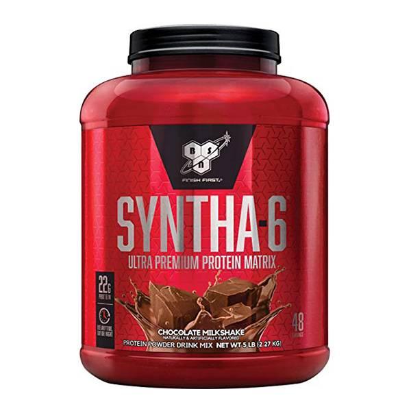 【美國BSN】Syntha-6乳清蛋白5磅-巧克力奶昔