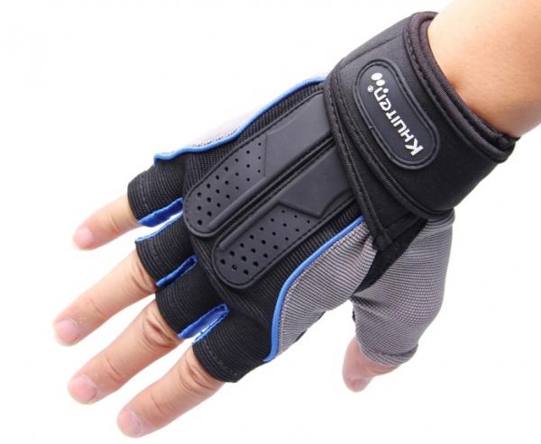 【KHUITEN】 輕盈透氣款手套-藍色M~XL