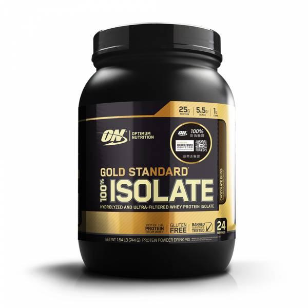 【美國ON】ISOLATE 金牌分離乳清蛋白 巧克力口味(1.64磅/罐)