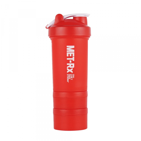 MET-Rx 美瑞克斯450ml/紅 搖搖杯 附鋼球
