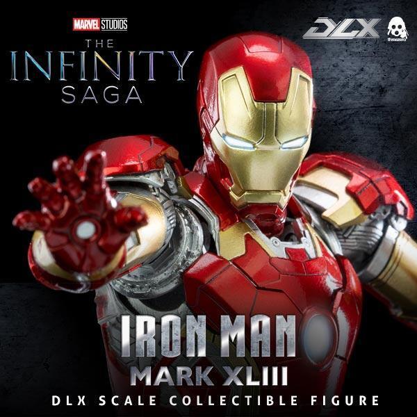 【03月預購】threezero DLX 鋼鐵人 Mark 43 MK43 1/12 再版   threezero DLX 鋼鐵人 Mark 43 MK43 1/12 再版