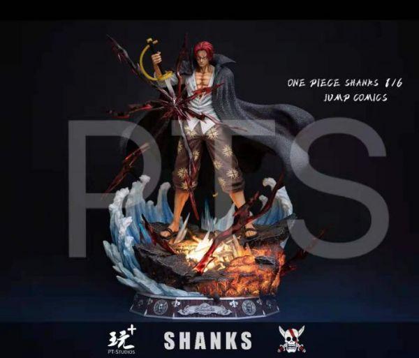 【預購】PT-Studios 霸氣登場王者歸來 紅髮傑克 雙比例雕像 PT-Studios 霸氣登場王者歸來 紅髮傑克 雙比例雕像