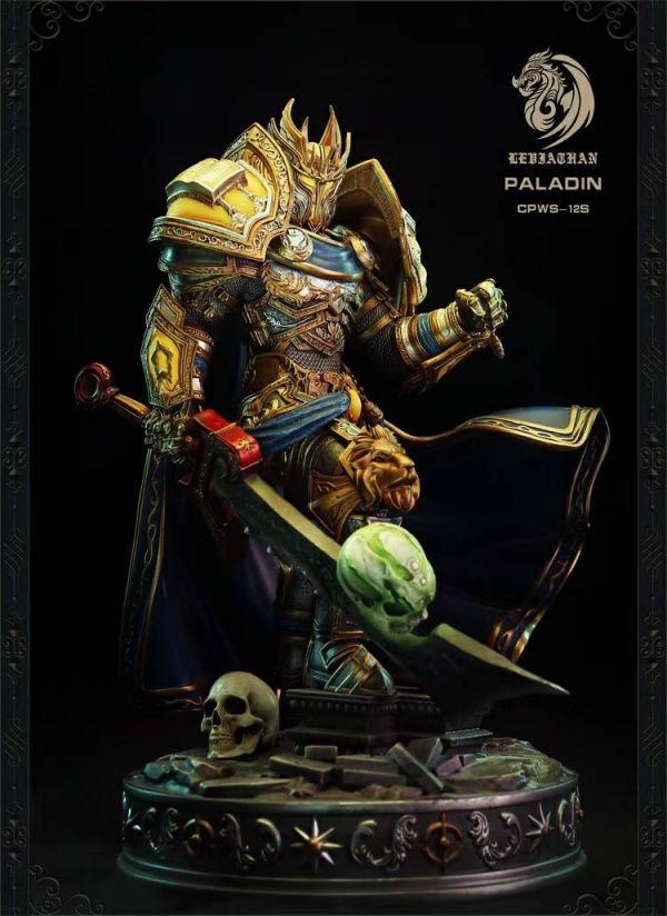 【預購】Leviathan 聖騎士領主,1/10桌面雕像 Leviathan 聖騎士領主,1/10桌面雕像