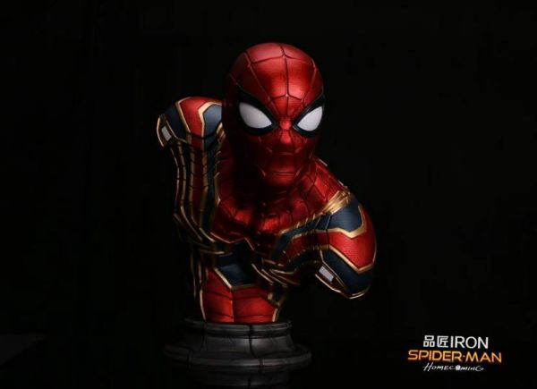 【GK預購】品匠IRON 漫威 鋼鐵蜘蛛人 雙比例 GK胸像 品匠IRON 漫威 鋼鐵蜘蛛人 雙比例 GK胸像