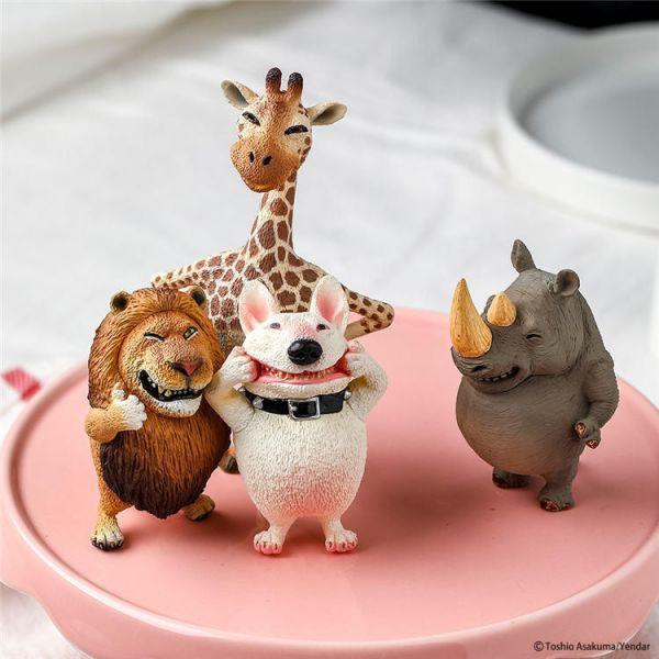 Animal Life 圓滾滾笑臉動物 PART2 朝隈俊男 盒玩 全4+1種 (6入) Animal Life 圓滾滾笑臉動物 PART2 朝隈俊男 盒玩 全4+1種 (6入)