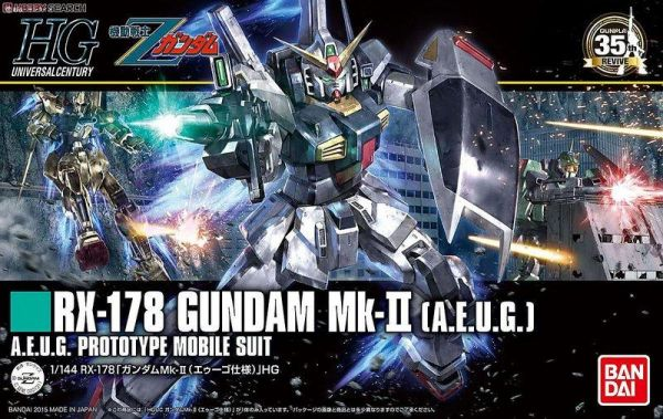 【現貨】BANDAI HGUC 1/144 #193 RX-178 GUNDAM Mk-II  鋼彈 BANDAI HGUC 1/144 #193 RX-178 GUNDAM Mk-II  鋼彈