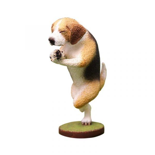 Animal Life 狗瑜珈大師 米格魯款 朝隈俊男 限定版 單售