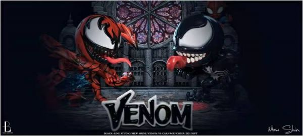 【預購】Black-Line  毒寶大戰屠寶(VenomVSCarnage) Black-Line  毒寶大戰屠寶(VenomVSCarnage)