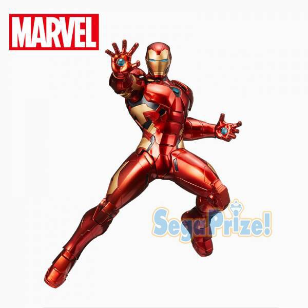 【08月預購】SEGA 景品 MARVEL COMICS 漫威 鋼鐵人 SEGA 景品 MARVEL COMICS 漫威 鋼鐵人