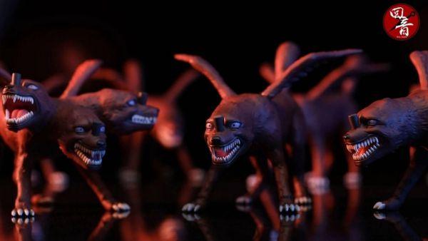 【預購】回音工作室 通靈獸共鳴系列第八彈分裂犬 回音工作室 通靈獸共鳴系列第八彈分裂犬