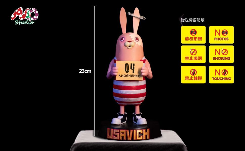 【GK預購】MO工作室 懷舊系列 監獄兔 基里連科 GK雕像 MO工作室 懷舊系列 監獄兔 基里連科 GK雕像
