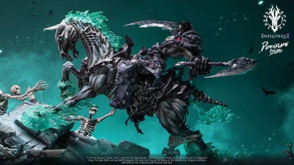 【預購】Darksiders系列第一彈限量雕像 死亡騎士 深淵ver. Darksiders系列第一彈限量雕像 死亡騎士 深淵ver.