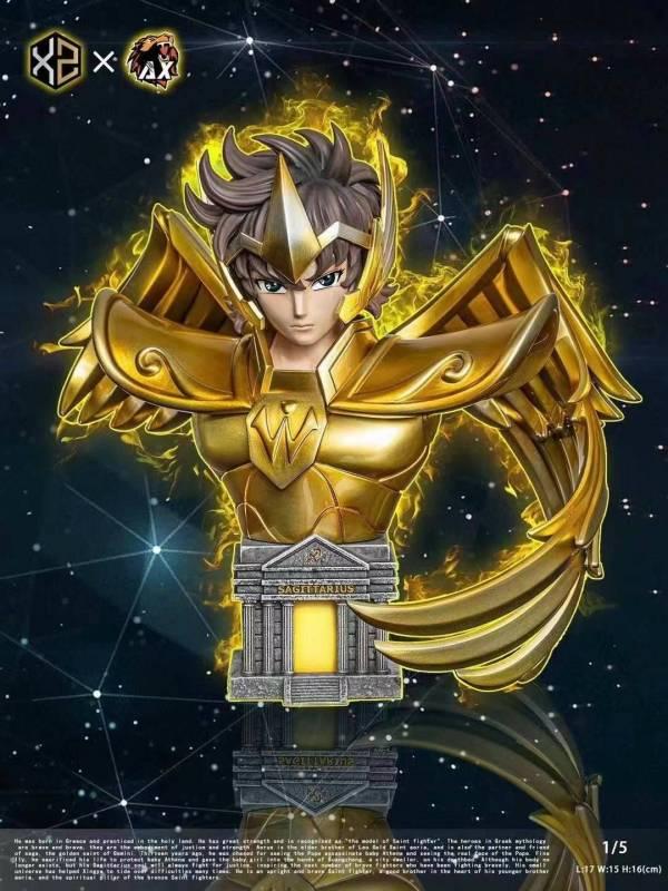 【GK預購】XS&AX聖鬥士 黃金十二宮共鳴 第五彈 射手座 艾俄洛斯 胸像 XS&AX聖鬥士 黃金十二宮共鳴 第五彈 射手座 艾俄洛斯 胸像