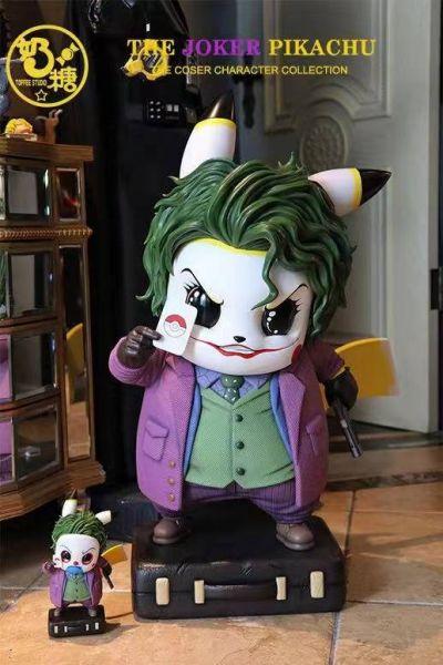 【預購】奶糖工作室 寶可夢 小丑皮卡丘 雙比例雕像 奶糖工作室 寶可夢 小丑皮卡丘 雙比例雕像