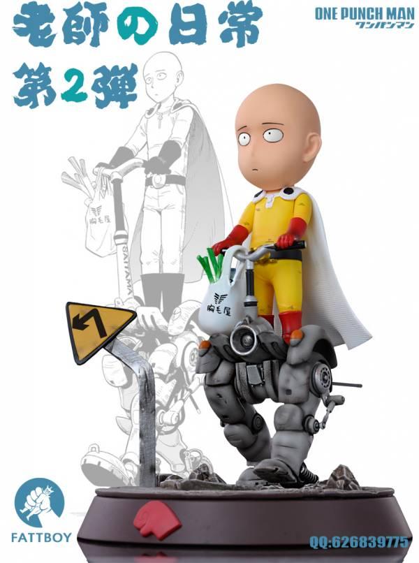 【GK預購】胖工作室 一拳超人老師的日常 第二彈 GK雕像 胖工作室 一拳超人老師的日常 第二彈 GK雕像