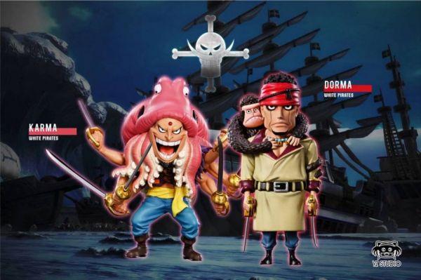 【預購】YZ白鬍子海賊團遊遊騎士·多瑪 章魚魚人·卡馬爾 YZ白鬍子海賊團遊遊騎士·多瑪 章魚魚人·卡馬爾