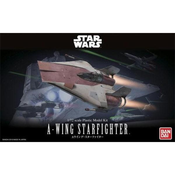 Star Wars 星際大戰 戰機 A翼戰機 (A-wing) 組裝模型 代理版 Star Wars 星際大戰 戰機 A翼戰機 (A-wing) 組裝模型 代理版