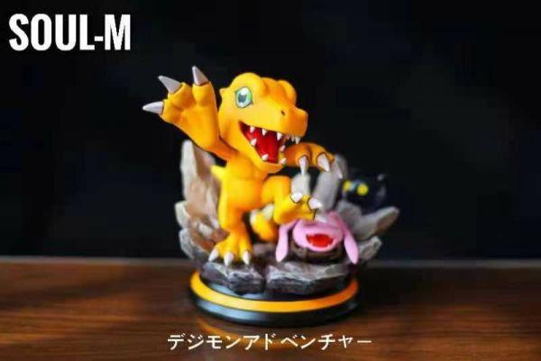 【GK預購】SOUL-M 數碼寶貝成長期進化小雕像第二彈亞古獸 SOUL-M 數碼寶貝成長期進化小雕像第二彈亞古獸