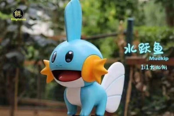 【預購】餅屋工作室 寶可夢1:1系列 水躍魚 餅屋工作室 寶可夢1:1系列 水躍魚