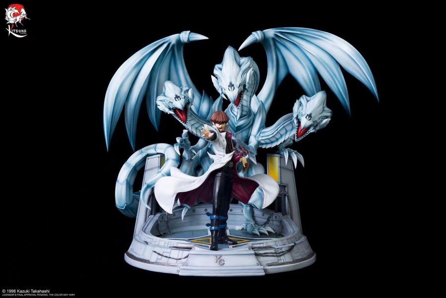 【GK預購】Kitsune Statue《遊戲王》正版授權 海馬瀨人與青眼究極龍 雕像 Kitsune Statue《遊戲王》正版授權 海馬瀨人與青眼究極龍 雕像