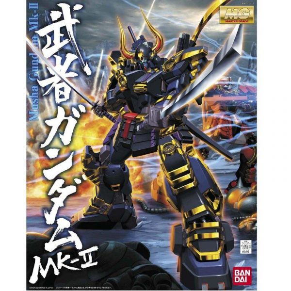 MG 1/100 武者頑馱無摩亞屈 鋼彈 MG 1/100 武者頑馱無摩亞屈