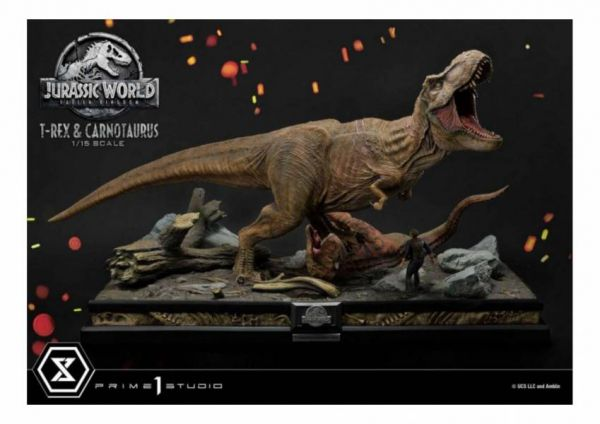 【預購】Prime 1 Studio 1/15 侏羅紀世界 暴龍與食肉牛龍 Prime 1 Studio 1/15 侏羅紀世界 暴龍與食肉牛龍