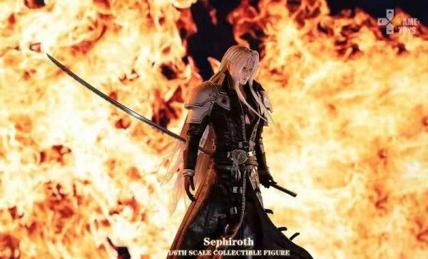 【預購】GAMETOYS Sephiroth薩菲羅斯1/6可動人偶 GAMETOYS Sephiroth薩菲羅斯1/6可動人偶