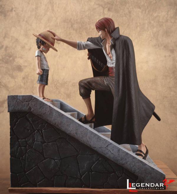 【預購】傳奇工作室 海賊王 魯夫&紅髮 1/6比例 傳奇工作室 海賊王 魯夫&紅髮 1/6比例