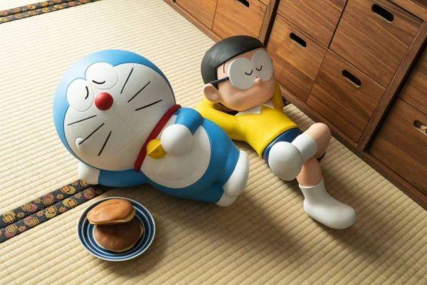 【預購】 Penguin Toys 哆啦A夢 正版授權 睡覺小叮噹、睡覺野比大雄  Penguin Toys 哆啦A夢 正版授權 睡覺小叮噹、睡覺野比大雄