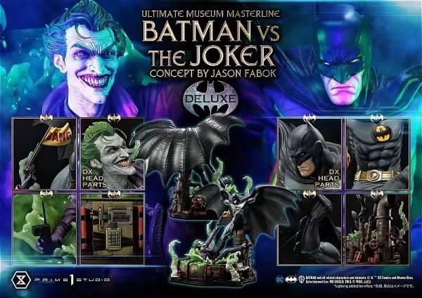 【預購】Prime 1 Studio UMMDC-06 DC漫畫 蝙蝠俠大戰小丑 1/3 正版雕像 Prime 1 Studio UMMDC-06 DC漫畫 蝙蝠俠大戰小丑 1/3 正版雕像