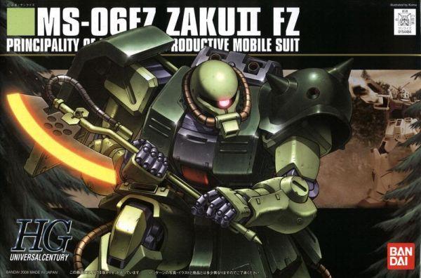 【現貨】BANDAI HGUC #087 薩克Ⅱ改 巴尼薩克 0080小隊版 MS-06FZ ZAKUⅡ BANDAI HGUC #087 薩克Ⅱ改 巴尼薩克 0080小隊版 MS-06FZ ZAKUⅡ