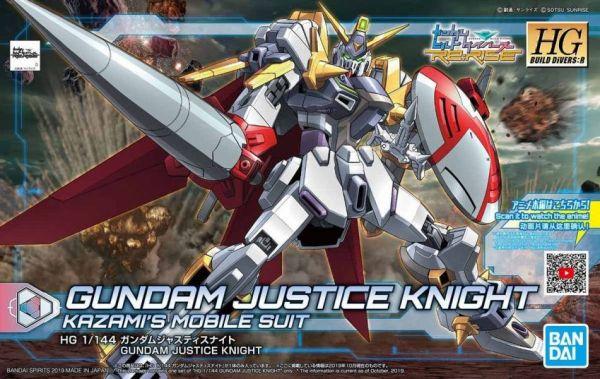 HGBD:R #004 1/144 正義騎士鋼彈 HGBD:R #004 1/144 正義騎士鋼彈