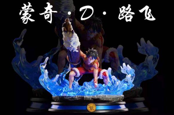 【GK預購】藍塗(lan tu)頂上戰爭  蒙奇.D.魯夫GK雕像 1/4比例 藍塗(lan tu)頂上戰爭  蒙奇.D.魯夫GK雕像 1/4比例
