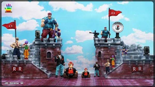 【預購】JacksDo DBZ 紅緞帶軍團本部場景 JacksDo DBZ 紅緞帶軍團本部場景