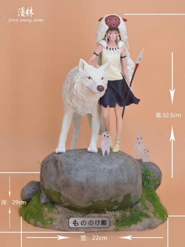 【GK預購】 漫之林工作室 1997年 宮崎駿 幽靈公主 GK雕像 漫之林工作室 1997年 宮崎駿 幽靈公主 GK雕像