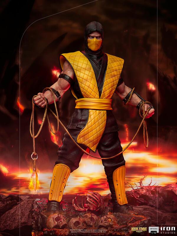 【12月預購】IRON STUDIOS 真人快打 魔蠍 Scorpion 雕像 IRON STUDIOS 真人快打 魔蠍 Scorpion 雕像