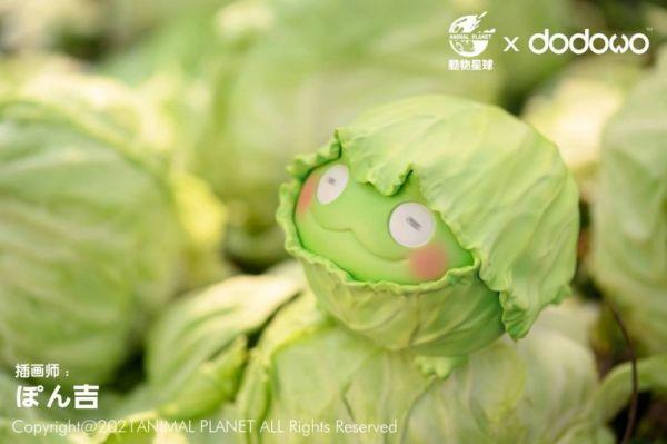 【預購】正版授權 動物星球x朵朵窩 野菜精靈 野菜蛙 正版授權 動物星球x朵朵窩 野菜精靈 野菜蛙