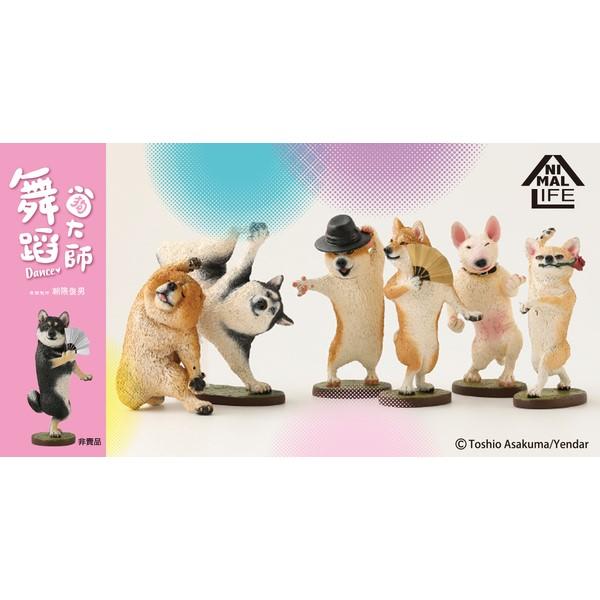 Animal Life 狗舞蹈大師 朝隈俊男 全6種(6入) Animal Life 狗舞蹈大師 朝隈俊男 全6種(6入)