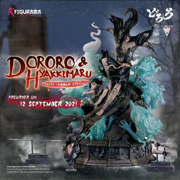【預購】正版授權 Figurama《多羅羅》多羅羅與百鬼丸 1/6 雕像  正版授權 Figurama《多羅羅》多羅羅與百鬼丸 1/6 雕像