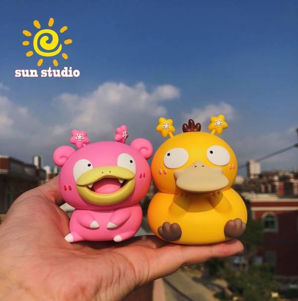 【預購】sun studio 萌寶系列,憨憨二人組~可達鴨呆呆獸(兩個一套)  sun studio 萌寶系列,憨憨二人組~可達鴨呆呆獸(兩個一套)