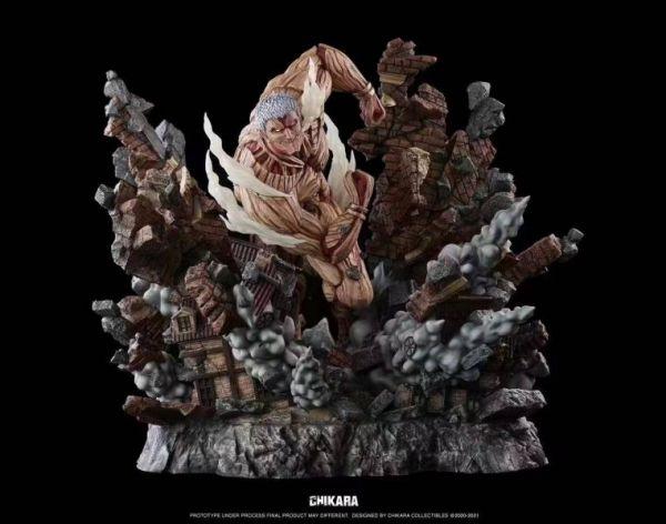 【預購】Chikara 力量工作室 進擊的巨人 鎧之巨人萊納 Chikara 力量工作室 進擊的巨人 鎧之巨人萊納
