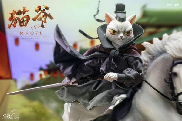 【GK預購】DDupToys 1/6 貓爺 可動人偶中國風正版模型 DDupToys 1/6 貓爺 可動人偶中國風正版模型